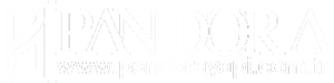 Pandora Logo Beyaz